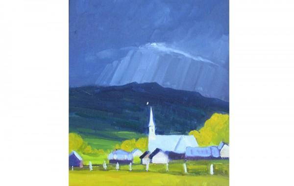 Lumière sur l'église – VENDU