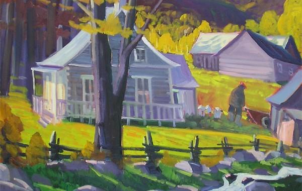 La maison près du ruisseau