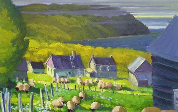 Les moutons au Cap-aux-Corbeaux