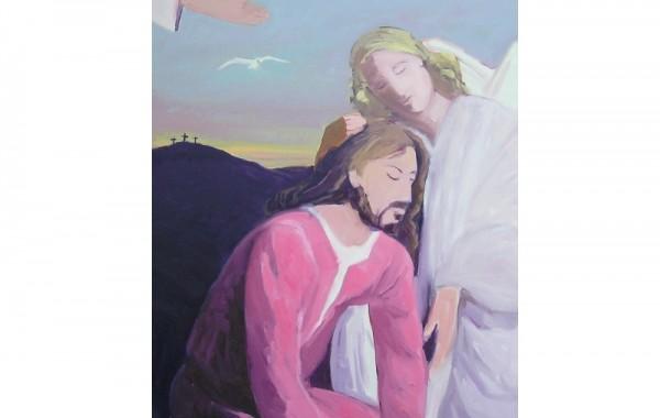 Jésus consolé par l'ange